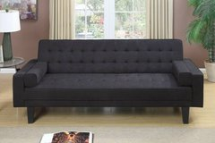 New Ebony Microfiber Tufted Sofa Bed FREE DELIVERY in Oceanside, California