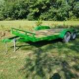 16 ft Trailer, New paint, JD Green in Fort Campbell, Kentucky