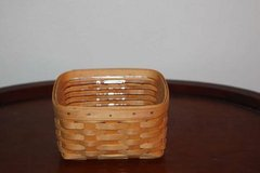 Longaberger Basket Recipe with Liner in Kingwood, Texas