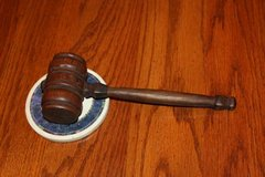 Vintage Antique Judge's Gavel 1944 in Kingwood, Texas