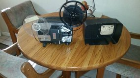 8mm film projector - missing electric cord- not sure if it works. in Travis AFB, California