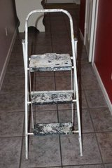 Painting Step Stool but the paint is free in Kingwood, Texas
