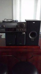 Technics receiver speaker and subwoofer in Tacoma, Washington