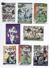 DALLAS COWBOYS GREATS TROY AIKMAN, EMMITT SMITH & MICHAEL IRVIN LOT in Chicago, Illinois