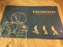 honda japan asimo large blanket in Okinawa, Japan