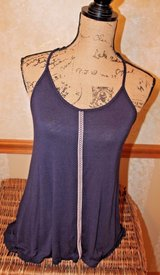 Navy Swing Top Racerback Ribbon Straps & Trim, Rayon/Spandex, Small in Naperville, Illinois
