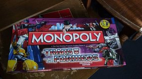 Monopoly Transformer Game in Orland Park, Illinois