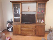 ALL WOOD ENTERTAINMENT CENTER in Batavia, Illinois