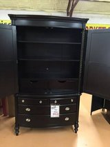 Clearance Center ~ Large Dark Wood Armoire in Beaufort, South Carolina