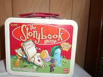 """THE STORYBOOK GAME""   Card Game by FUNDEX    Tin Lunchbox with deck of cards inside.  Never Use... in Bellaire, Texas"