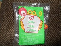"MCDONALDS HAPPY MEAL "";CLAUDE THE CRAB"" 1999 TY BEANIE TOY ANIMAL! ORIG PKG New in original seal... in Bellaire, Texas"