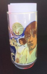 1977 STAR WARS CocaCola Burger King Collector Glass LUKE SKYWALKER in Shorewood, Illinois