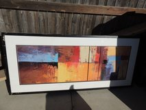solar 2 reproduction framed painting 60x 26 3/4 castiellus 51044 in Fort Carson, Colorado