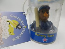 NEW in Package Celebriducks Rubber Duck Sammy Sosa Cubs Baseball Player in Shorewood, Illinois