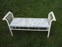 BENCH FOR THE HOME MATAL BASE in Tinley Park, Illinois