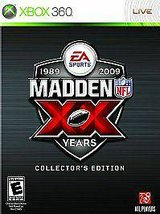 Madden NFL 09 20th Anniversary Collectors Edition -Xbox 360 in Clarksville, Tennessee
