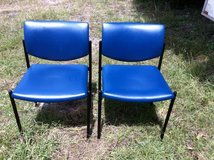 Blue Side Chairs in Montezuma, Georgia