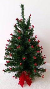"24"" BERRY TIPPED ARTIFICIAL CHRISTMAS TREE in Elgin, Illinois"