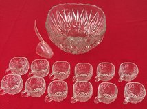 VINTAGE HAZELWARE 14 PIECE PUNCH BOWL SET in Palatine, Illinois