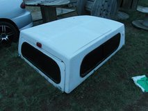 vintage toyota truck bed topper by stockland white 74 x 50  00594 in Huntington Beach, California