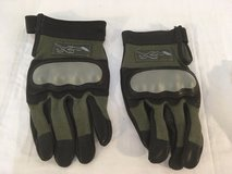 new wiley-x foliage green medium kevlar leather combat assault tactical gloves  00981 in Fort Carson, Colorado