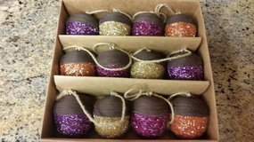 Home Goods Sparkly Acorns 7' strand brand new in box in Temecula, California