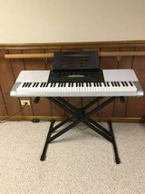 Casio Keyboard with stand in St. Charles, Illinois