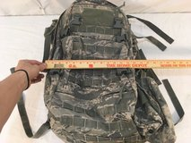 gcs us air force abu 15x24 bug out multi pocketed waist strap padded backpack  01012 in Huntington Beach, California
