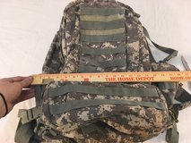 us army military acu 15 x 20 multi pocketed 3 day assault waist strap backpack 01006 in Huntington Beach, California