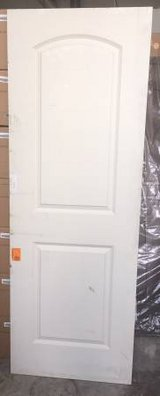 28 x 80 Roman Primed 2-Panel Round Top Solid Core Door in Chicago, Illinois