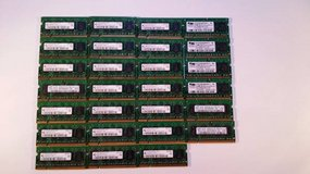 Lot of 27 512MB DDR2 667MHz 2Rx16 PC2-5300 CL5 Laptop Memory SODIMM RA in Baytown, Texas
