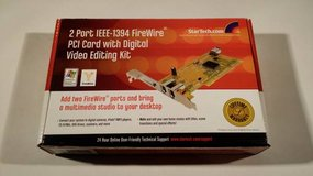 STARTECH 2-Port Firewire IEEE 1394 PCI Card in Baytown, Texas