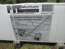 dual-kayak carrier trailer kit in Camp Lejeune, North Carolina