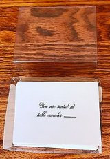 Wedding Place Cards You are seated at Table Number in St. Charles, Illinois