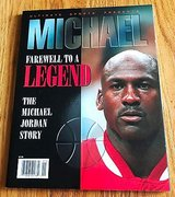 Ultimate Sports Presents Michael Farewell To A Legend Magazine Chicago Bulls in St. Charles, Illinois