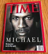 Time June 22,1998 Magazine Michael Jordan Cover Chicago Bulls HOF North Carolina in St. Charles, Illinois