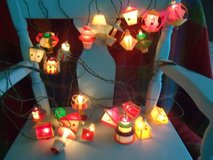 Set of Vintage Christmas Lights in Orland Park, Illinois