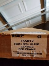 W. Silver Products F55012 Queen/King/Cal King Bed Frame in Clarksville, Tennessee