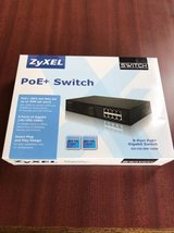 New ZyXEL 8 port 240w POE switch in Oceanside, California