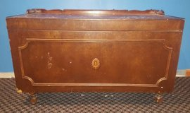 LARGE  Antique Wooden Chest in Naperville, Illinois