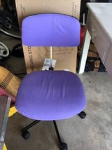 purple desk chair in Sugar Grove, Illinois