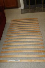 LURÖY Slatted bed base for Twin Size Bed - Ikea in Spring, Texas