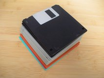 "formated used lot of 12 - 3.5""; floppy disks blank ibm format 2hd various brands in Batavia, Illinois"