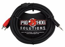 6ft Pig-Hog Stereo Breakout Cable, 3.5mm Stereo Male to Dual RCA Male in Clarksville, Tennessee