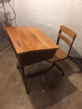 Antique Schoolhouse Desk in St. Charles, Illinois