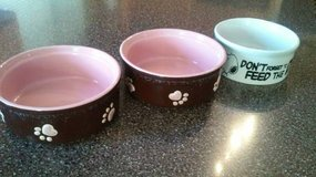DOG CAT FOOD WATER BOWLS in Joliet, Illinois