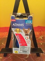 adams Flea/  tick spot on for dogs / puppies  6-12 pounds 1 month supply in Morris, Illinois