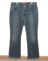 Levis 515 Nouveau Boot Cut Denim Jeans Womens 16 Mis M in Yorkville, Illinois