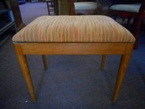 Mid Century Stool by Mengel in Elgin, Illinois