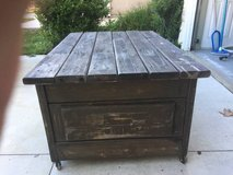 Rustic coffee table in Temecula, California